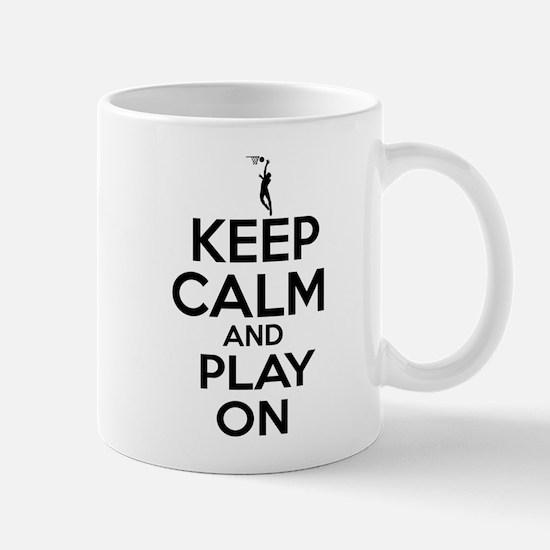 Keep calm and play Netball Mugs