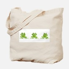 3 Frogs! Tote Bag