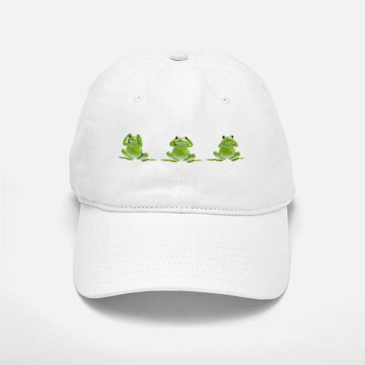 3 Frogs! Baseball Baseball Cap