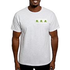 3 Frogs! Ash Grey T-Shirt