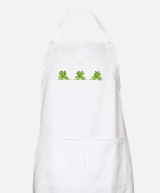 3 Frogs! BBQ Apron