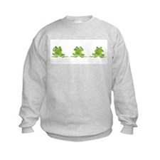 3 Frogs! Sweatshirt