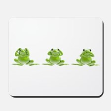 3 Frogs! Mousepad