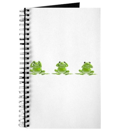 3 Frogs! Journal