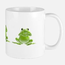 3 Frogs! Small Small Mug
