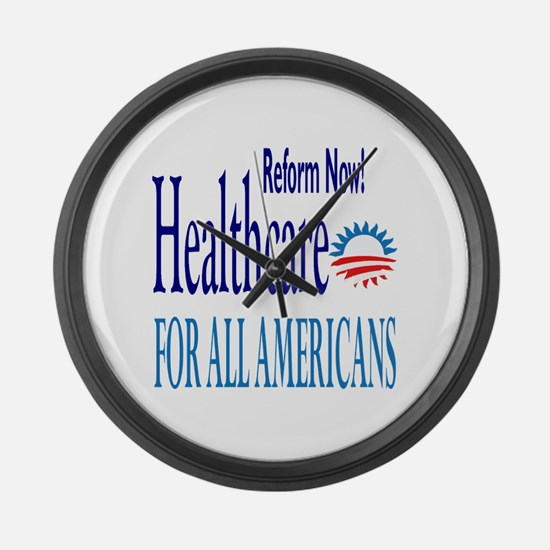 Health Reform Now: Large Wall Clock