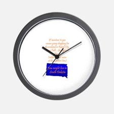 SD Vacation Wall Clock