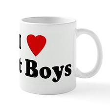 I Love Fat Boys Mug
