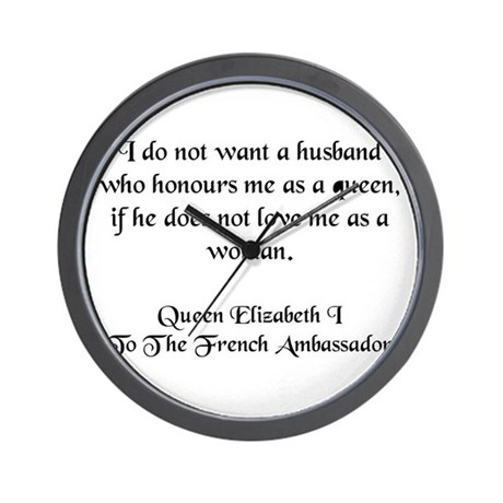 Quote 5 Wall Clock