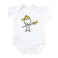 Boy & Mellophone Infant Bodysuit