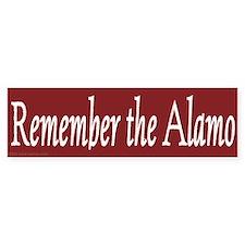 Remember the Alamo (Bumper)