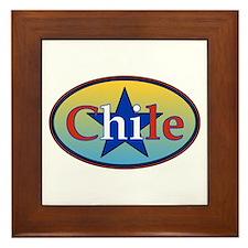 Chile Star 2 Framed Tile