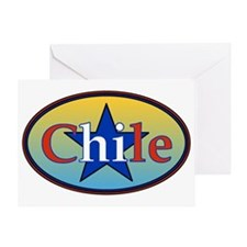 Chile Star 2 Greeting Card