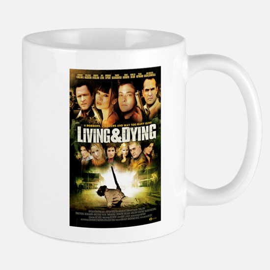 Living & Dying DVD Mug