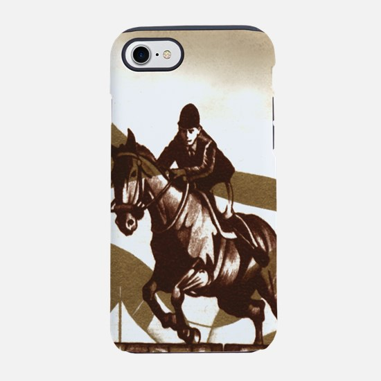 Show Jumping iPhone 7 Tough Case