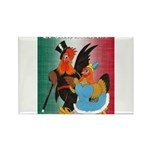 El Gallo Atractivo Rectangle Magnet (100 pack)
