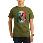 El Gallo Atractivo Organic Men's T-Shirt (dark)