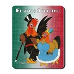 El Gallo Atractivo Mousepad