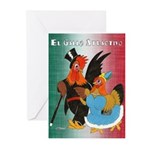 El Gallo Atractivo Greeting Cards (Pk of 10)