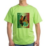 El Gallo Atractivo Green T-Shirt