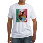 El Gallo Atractivo Fitted T-Shirt