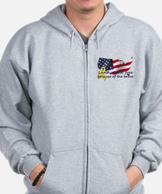 Land of the free ... Zip Hoodie