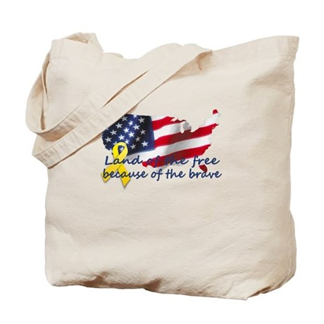 Land of the free ... Tote Bag