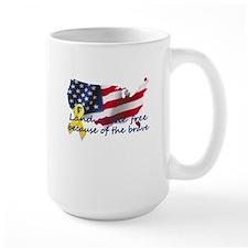 Land of the free ... Mug