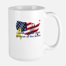 Land of the free ... Mug