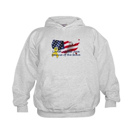 Land of the free ... Kids Hoodie