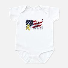 Land of the free ... Infant Bodysuit