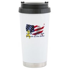 Land of the free ... Travel Mug
