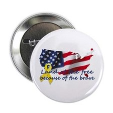 "Land of the free ... 2.25"" Button"