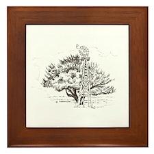 Winchester Tree Framed Tile