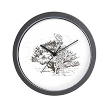 Winchester Tree Wall Clock