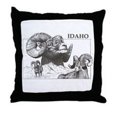 Unique Rocky Throw Pillow