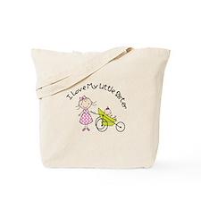big sister little sister matching Tote Bag