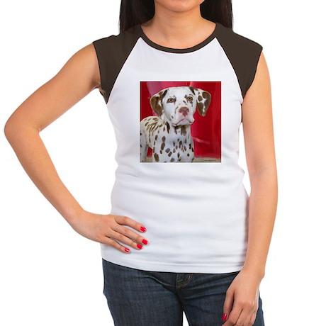 Dalmatian Women's Cap Sleeve T-Shirt