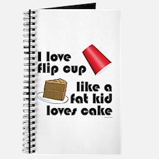 """""""Like a fat kid"""" flip cup Journal"""