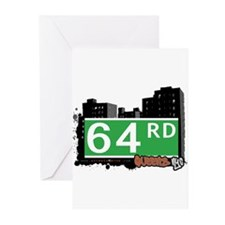 64 ROAD, QUEENS, NYC Greeting Cards (Pk of 20)