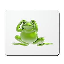 Frog - See No Evil! Mousepad
