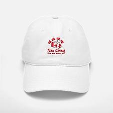 Team Canada Flip Cup Baseball Baseball Cap