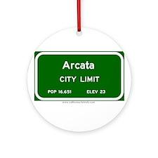 Arcata Ornament (Round)