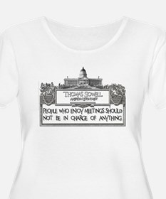 People Who Enjoy Meetings T-Shirt