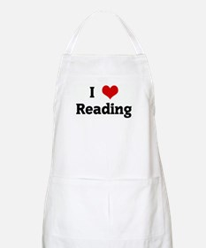 I Love Reading BBQ Apron