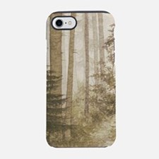 Brown Misty Forest iPhone 7 Tough Case