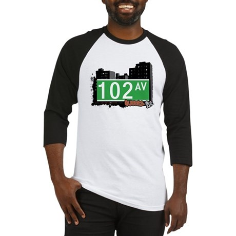 102 AVENUE, QUEENS, NYC Baseball Jersey