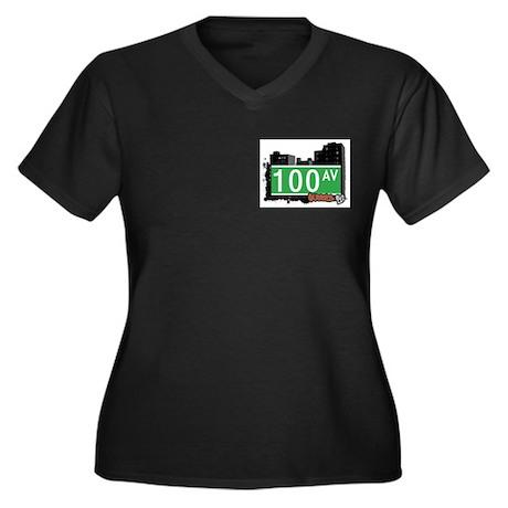 100 AVENUE, QUEENS, NYC Women's Plus Size V-Neck D