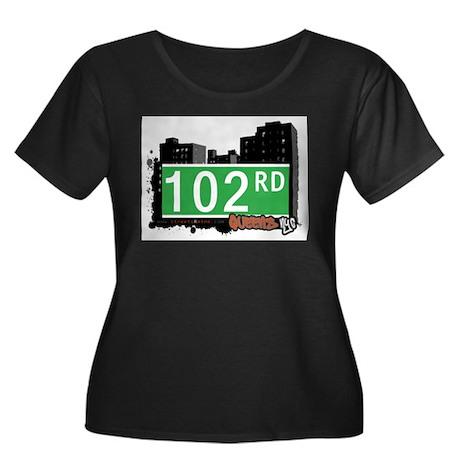 102 ROAD, QUEENS, NYC Women's Plus Size Scoop Neck