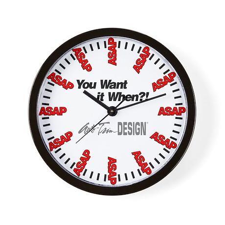 Auto Trim DESIGN ASAP Wall Clock